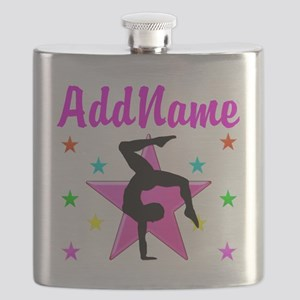 GYMNAST GIRL Flask