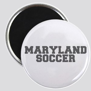 MARYLAND soccer-fresh gray Magnets