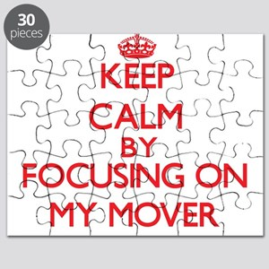 Keep Calm by focusing on My Mover Puzzle
