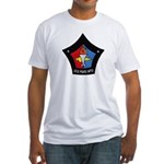 USS MARS Fitted T-Shirt
