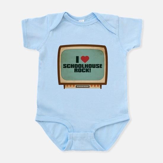 Retro I Heart Schoolhouse Rock! Infant Bodysuit
