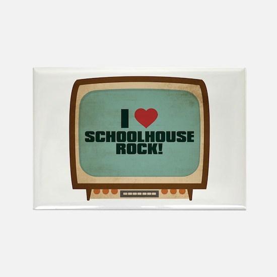 Retro I Heart Schoolhouse Rock! Rectangle Magnet