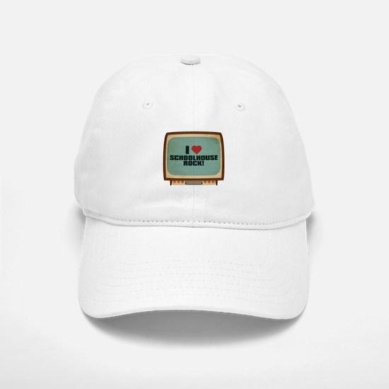 Retro I Heart Schoolhouse Rock! Baseball Baseball Cap