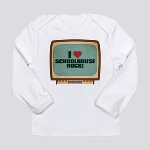 Retro I Heart Schoolhouse Rock! Long Sleeve Infant