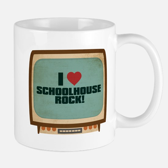 Retro I Heart Schoolhouse Rock! Mug