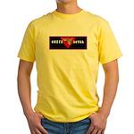 Black Heart Yellow T-Shirt