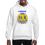 TALMUDIC TEE-CHINGS SHABBAT Hooded Sweatshirt