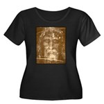 Shroud of Turin Women's Plus Size Scoop Neck Dark
