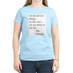 TALMUDIC TEE-CHINGS Women's Light T-Shirt