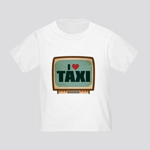 Retro I Heart Taxi Infant/Toddler T-Shirt