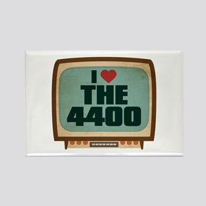 Retro I Heart The 4400 Rectangle Magnet
