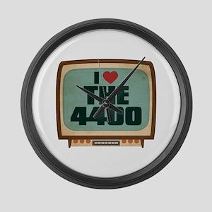 Retro I Heart The 4400 Large Wall Clock