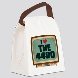 Retro I Heart The 4400 Canvas Lunch Bag