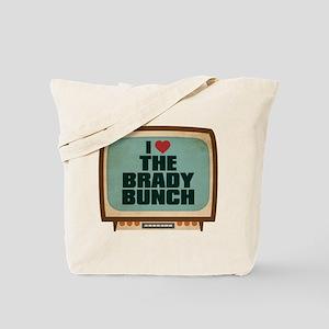 Retro I Heart The Brady Bunch Tote Bag