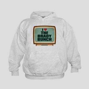 Retro I Heart The Brady Bunch Kid's Hoodie