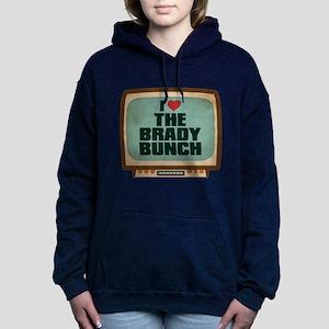 Retro I Heart The Brady Bunch Woman's Hooded Sweat