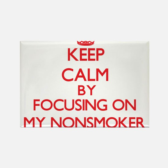 Keep Calm by focusing on My Nonsmoker Magnets