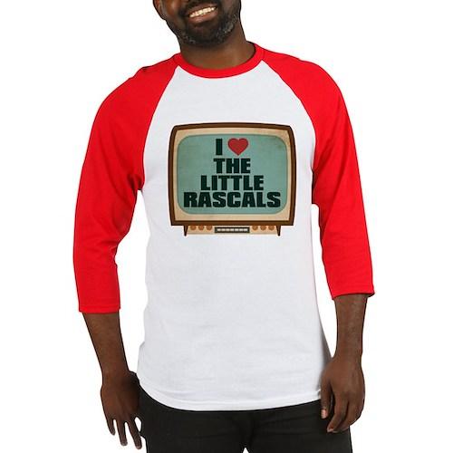 Retro I Heart The Little Rascals Baseball Jersey