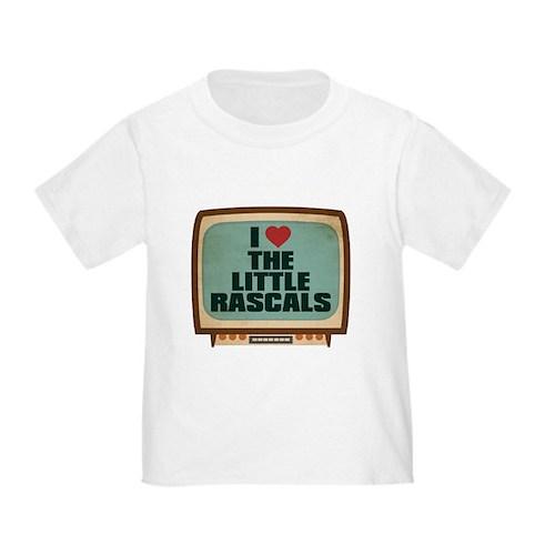 Retro I Heart The Little Rascals Infant/Toddler T-