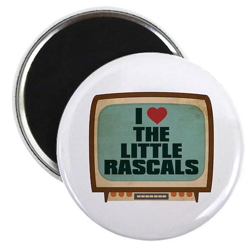 Retro I Heart The Little Rascals Magnet