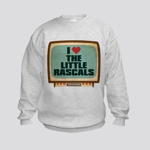 Retro I Heart The Little Rascals Kids Sweatshirt