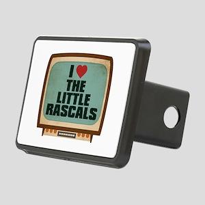 Retro I Heart The Little Rascals Rectangular Hitch