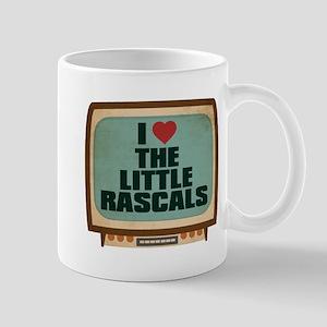Retro I Heart The Little Rascals Mug