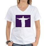Jesus Women's V-Neck T-Shirt