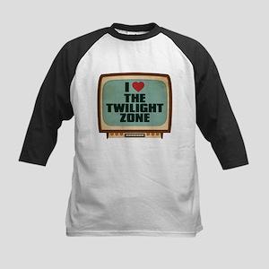 Retro I Heart The Twilight Zone Kids Baseball Jers