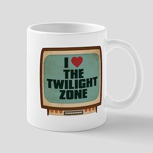 Retro I Heart The Twilight Zone Mug