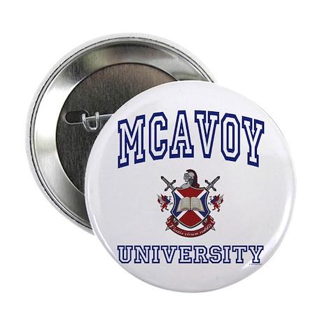 "MCAVOY University 2.25"" Button (10 pack)"