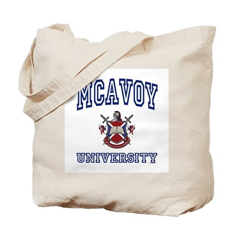 MCAVOY University Tote Bag