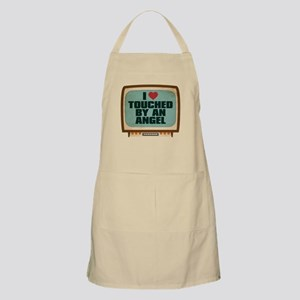 Retro I Heart Touched by an Angel Apron
