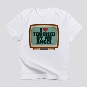 Retro I Heart Touched by an Angel Infant T-Shirt