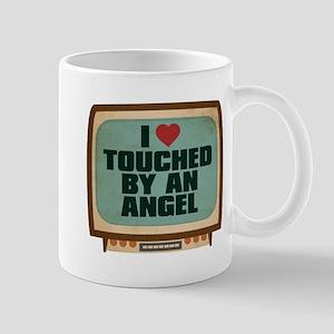 Retro I Heart Touched by an Angel Mug