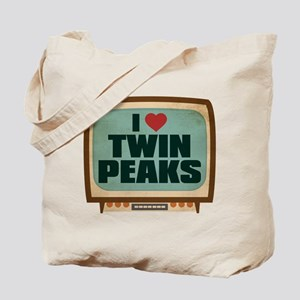 Retro I Heart Twin Peaks Tote Bag
