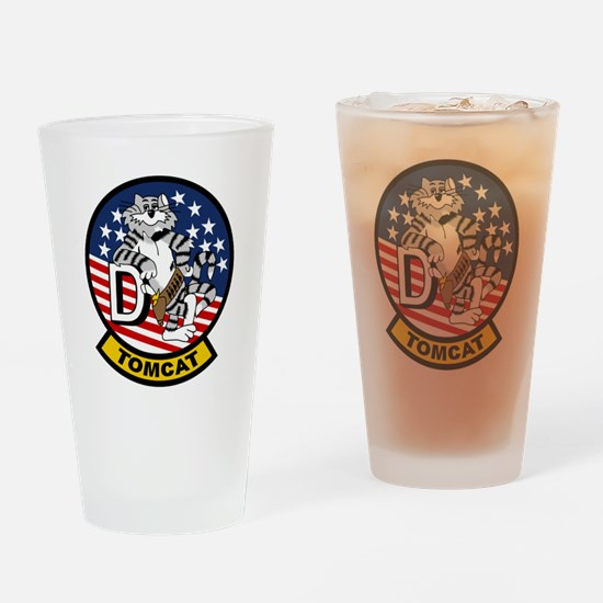 Funny F14 Drinking Glass