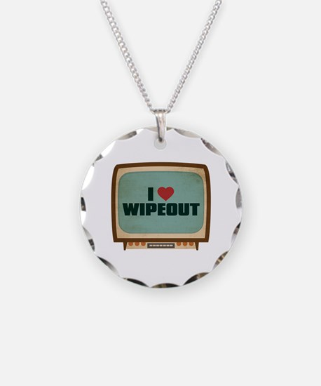 Retro I Heart Wipeout Necklace