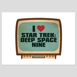 Retro I Heart Star Trek: Deep Space Nine 5x7 Flat