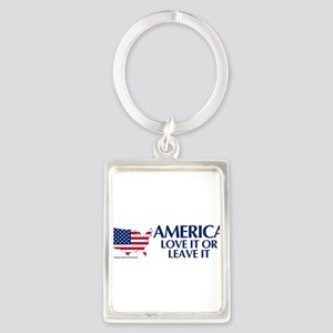 america love it or leave it bsCP Keychains