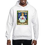 Lady Capricorn Hooded Sweatshirt