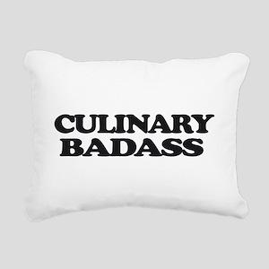Chef Culinary Badass Rectangular Canvas Pillow