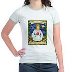Lady Capricorn Jr. Ringer T-Shirt