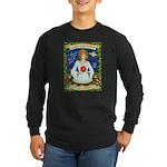 Lady Capricorn Long Sleeve Dark T-Shirt