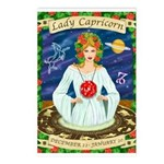 Lady Capricorn Postcards (Package of 8)