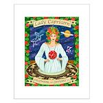 Lady Capricorn Small Poster