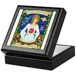 Lady Capricorn Keepsake Box
