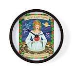 Lady Capricorn Wall Clock
