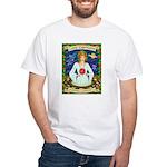 Lady Capricorn White T-Shirt