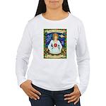 Lady Capricorn Women's Long Sleeve T-Shirt